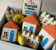 housewarming cookies by allieroom, via Flickr