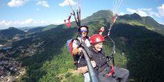 Aventureiro de 95 anos se torna o mais idoso a voar de parapente no Brasil.  Reprodução: Jornal Correio do Povo - Jaraguá do Sul  Em um dos nove parapentes ...  leia mais em: http://ocponline.com.br/noticias/nas-alturas-aos-95-anos  #solparagliders #youcanfly #vocepodevoar #paraglider #parapente