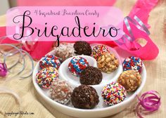 Juggling With Kids: Around the World in 12 Dishes: Brazil: Brigadeiro Gourmet Recipes, Dessert Recipes, Desserts, Candy Recipes, Sweet Recipes, Brazil Food, Caramel, Brazil Travel, Mexico Travel