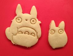 Cute & Whimsical My Neighbor Totoro Cookie Cutters