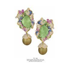 ISSUU - Margot McKinney 2014 by Margot McKinney green gold Tahitian pearls diamonds paraiba tourmalines tsavorites garnet sapphires