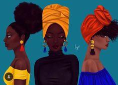 afrocentric Framed Art Print by princess kay - Vector Black - MEDIUM Black Girl Art, Black Women Art, Black Girls Rock, Black Girl Magic, Art Girl, Natural Hair Art, Natural Hair Styles, Style Afro, Black Art Pictures
