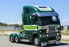 Freightliner Argosy at the Mount Truck Show 2016