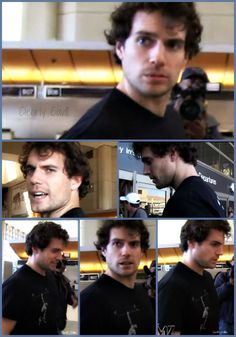Henry Cavill - Collage-O-Curls!