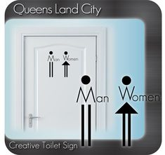 Creative Funny Bathroom Toilet WC Business by Queenslandcity2009, $6.99