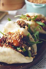 Gua Bao con panceta al estilo oriental