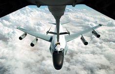 Larry's plane refueling.