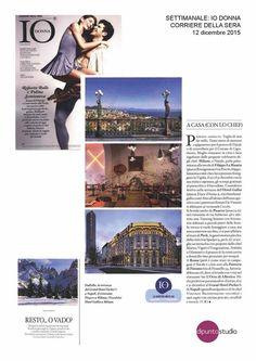 IO DONNA, il settimanale femminile del Corriere della Sera parla del nostro Hotel in un servizio sulle proposte per le feste di Natale e Capodanno. Hotel, Polaroid Film
