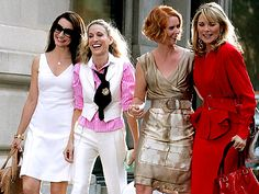 I still love SJP's outfit. I need some color at work!
