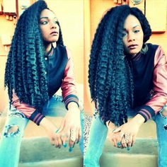 Lovely Crochet Braids @ Jasmine Jones - http://community.blackhairinformation.com/hairstyle-gallery/braids-twists/lovely-crochet-braids-jasmine-jones/