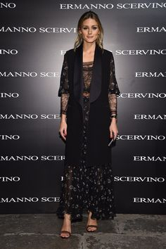 Olivia  Palermo - Ermanno Scervino SS17 - Front Row: Settimana della Moda di Milano, le star - September 2016 - Vogue.it