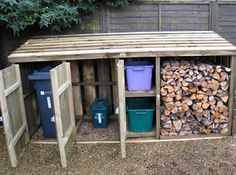 Wheelie Bin Store Combined Logstorehttp://www.devonlogstores.co.uk/index.php/products/list/category/bin_stores/