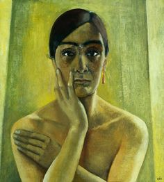 Anita Ree (German artist, 1885-1933) Self Portrait 1929