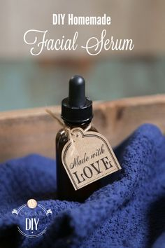 DIY Homemade Facial Serum. This serum penetrates the skin for tired, aging, and acne-prone skin! The simple ingredients moisturize, heal, and rejuvenate my skin.  No special equipment needed, just a few ingredients and a bottle.