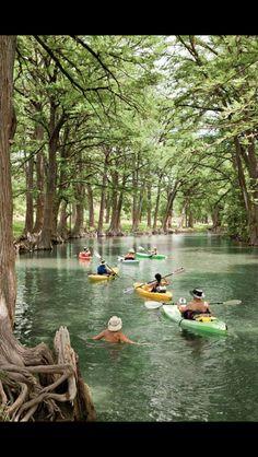 Medina river San Antonio!