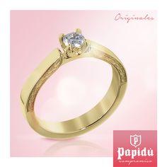 ¿Aún no sabes que anillo es el indicado para tu pareja? Visítanos en #JoyeriaPapidu donde con gusto te asesoraremos en la elección de esta pieza tan importante.
