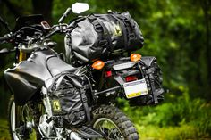 Yamaha WR250R Upgrades - soft luggage