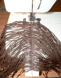 Artemaniacriar: Como costurar cabelo em boneca de pano