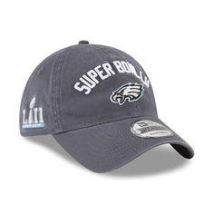 Philadelphia Eagles New Era Super Bowl LII Bound 9TWENTY Adjustable Hat –  Graphite 65b4847ba