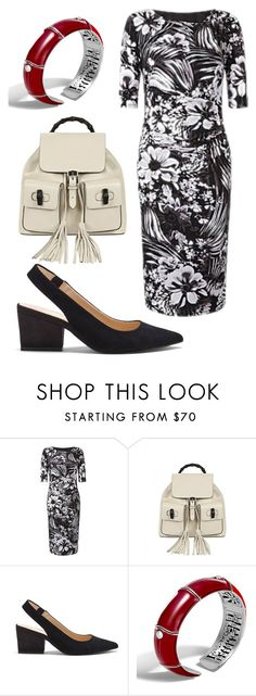 """""""plus size shannon"""" by aleger-1 ❤ liked on Polyvore featuring Gucci, Sole Society and John Hardy"""