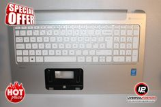 "Item:  HP Pavilion 15-P245SA Palmrest with UK Keyboard 762530-031 EAY14003040 ""X783   Postage:  Free UK Shipping – Royal Mail 1st Class Item Price: £49.99   Warranty:  30 Day Money Back Guarantee Buy on eBay: ebay.liverpoolpcrepairs.com   Protection:  eBay Money Back..."