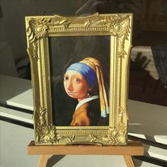 Jan Vermeer, the city's most famous son, is revered, but also the butt of lots of fun.