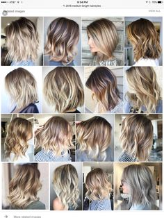 100 cool hair style ideas you can try at home page 12 100 cool hair style ideas you can try at home page 12 Related How To Curl Short Hair, Short Hair Cuts, Summer Hairstyles, Bob Hairstyles, Medium Hair Styles, Curly Hair Styles, Beckham Hair, Pink Ombre Hair, Haircut And Color