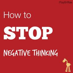 teach kids to stop negative thinking
