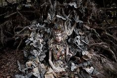 """Wonderland """"The Last Door of Autumn"""" by Kirsty Mitchell. Such an amazing and inspirational photograph. I love the whole Wonderland series! Surrealism Photography, Fantasy Photography, Fine Art Photography, Portrait Photography, Fashion Photography, Conceptual Photography, Stunning Photography, Contemporary Photography, Creative Photography"""