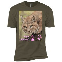 Lovingly added this new Andi Bobcat Paw P... for you.  What do you think? http://catrescue.myshopify.com/products/andi-bobcat-paw-prints-next-level-premium-short-sleeve-tee?utm_campaign=social_autopilot&utm_source=pin&utm_medium=pin