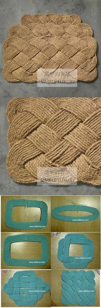 一款地垫,……_来自Endless_Joy的图片分享-堆糖网
