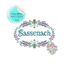 Sassenach. Outlander Inspired Sampler by plasticlittlecovers