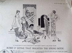 April 1925 Elite Styles Fashion Magazine  by dandelionvintage on Etsy, $15.00