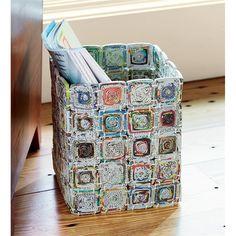 Recycled Waste Bin | Indoor Problem Solvers