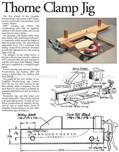 #66 Small Parts Routing Jig - Router Tips, Jigs and Fixtures