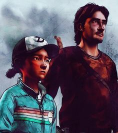 Luke was kind of like a quick 'replacement' for Lee.. Of course nobody could be as good as Lee, but Luke held up pretty well.. Before he fell through the ice, and clem had no one again. (except Jane, but that's not quite the same)