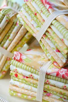 Meadow fabric bundle from Fig Tree Quilts