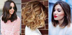 Długość włosów midi, czyli fryzury dla włosów średniej długości