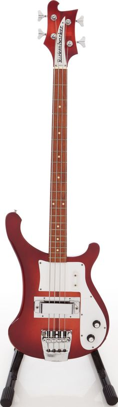 1972 Rickenbacker 4000 Burgundyglo Electric Bass Guitar #heritageauctions