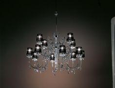 Nella Vetrina Italamp 741/8+4 Swarovski Crystal chandelier