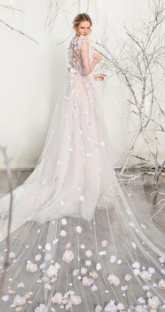mira zwillinger bridal 2017 strapless sweetheart ball gown wedding dress (elsa) sheer cape train bv