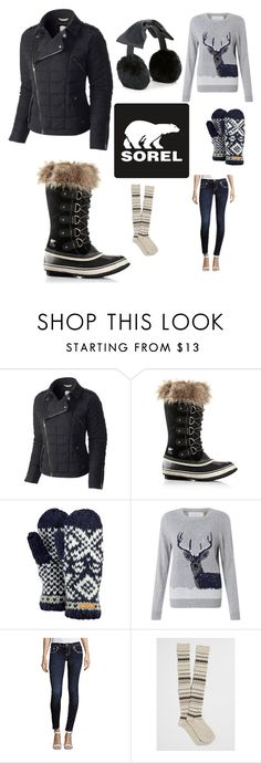 """#sorel"" by kristina-sandvig on Polyvore featuring SOREL, Barts, John Lewis, Miss Me, maurices and Kate Spade"