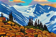 A collection of Paintings by Canadian Painter Nicholas Bott. Canadian Painters, Canadian Artists, Pictures To Paint, Art Pictures, Landscape Art, Landscape Paintings, Nature Drawing, Unusual Art, Land Scape