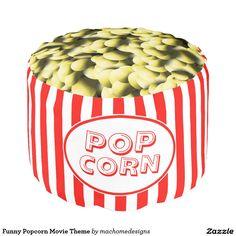 Funny Popcorn Movie Theme