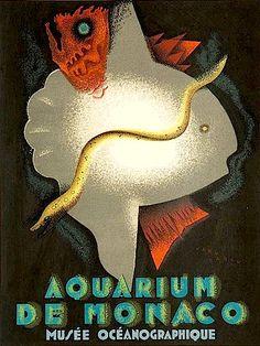 Das Aquarium in Monaco, 1926