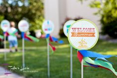 Welcome Summer Party - love this idea to welcome and celebrate summer! #party #summer