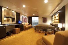 #MSCSplendida  #kabina s balkonom