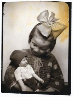 Girl with her Doll...