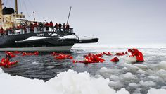 Icebreaker Sampo in Kemi, Finland - have seen people going in there without the red suit!