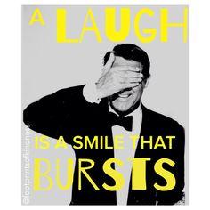 A laugh is a smile that bursts #laugh #smile @footprintsofkindness